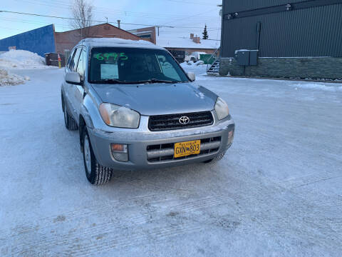 2001 Toyota RAV4 for sale at ALASKA PROFESSIONAL AUTO in Anchorage AK