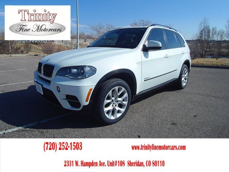 2013 BMW X5 for sale at TRINITY FINE MOTORCARS in Sheridan CO