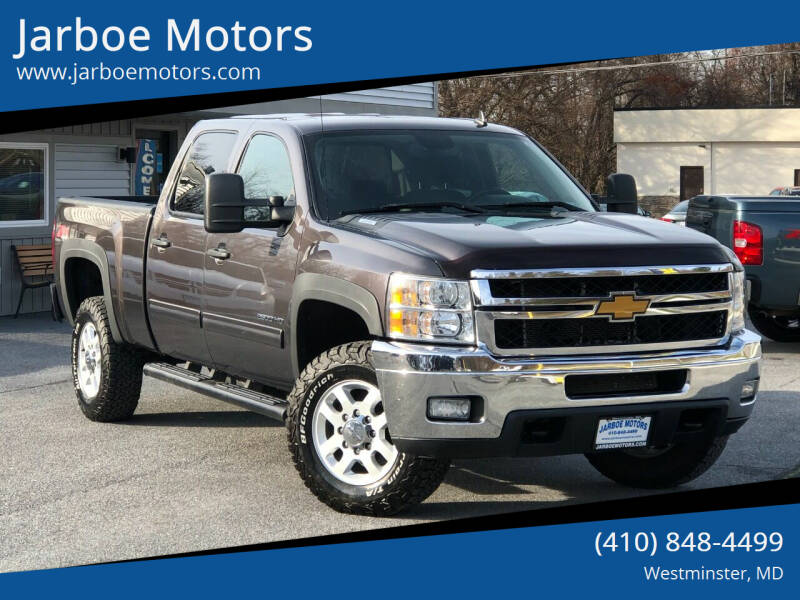 2011 Chevrolet Silverado 2500HD for sale at Jarboe Motors in Westminster MD