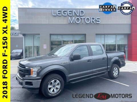 2018 Ford F-150 for sale at Legend Motors of Waterford in Waterford MI