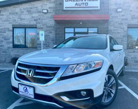 2013 Honda Crosstour for sale at GREENVILLE AUTO in Greenville WI