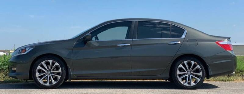 2015 Honda Accord for sale at Palmer Auto Sales in Rosenberg TX