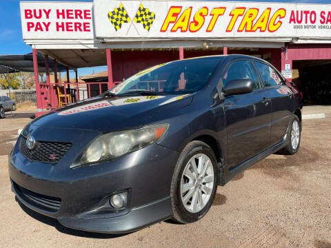 2009 Toyota Corolla for sale at Fast Trac Auto Sales in Phoenix AZ