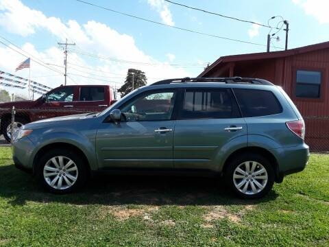 2013 Subaru Forester for sale at Rons Auto Sales in Stockdale TX
