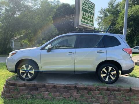 2018 Subaru Forester for sale at SS AUTO PRO'S in Otsego MI