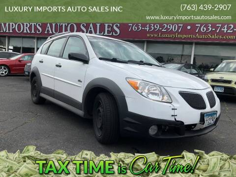 2007 Pontiac Vibe for sale at LUXURY IMPORTS AUTO SALES INC in North Branch MN