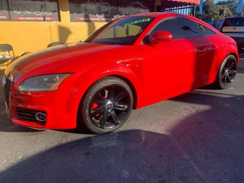 2008 Audi TT for sale at AUTO ALLIANCE LLC in Miami FL