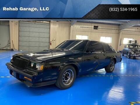 1985 Buick Regal for sale at Rehab Garage, LLC in Tomball TX