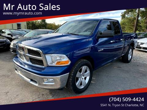 2009 Dodge Ram Pickup 1500 for sale at Mr Auto Sales in Charlotte NC
