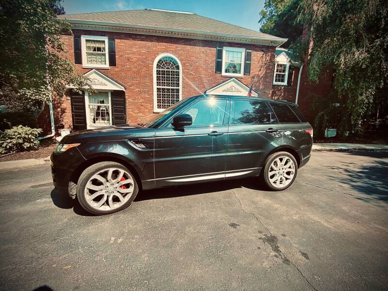 2015 Land Rover Range Rover Sport for sale at Newport Auto Group in Austintown OH