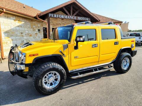 2007 HUMMER H2 SUT for sale at Performance Motors Killeen Second Chance in Killeen TX