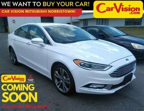 2017 Ford Fusion for sale at Car Vision Mitsubishi Norristown in Norristown PA