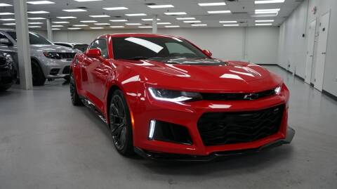 2018 Chevrolet Camaro for sale at SZ Motorcars in Woodbury NY