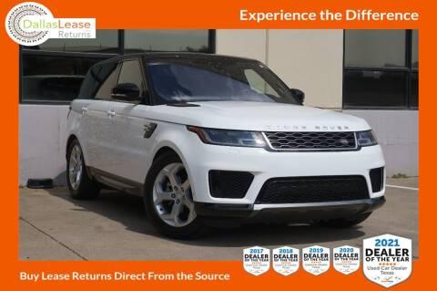 2018 Land Rover Range Rover Sport for sale at Dallas Auto Finance in Dallas TX