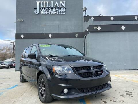 2015 Dodge Grand Caravan for sale at Julian Auto Sales, Inc. in Warren MI