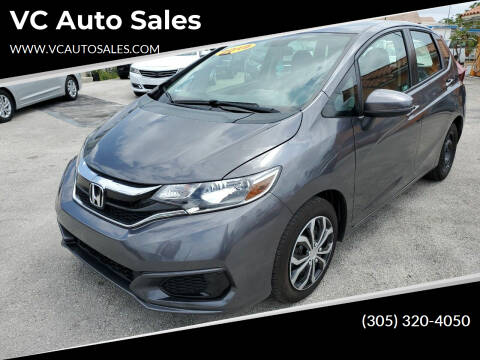 2019 Honda Fit for sale at VC Auto Sales in Miami FL