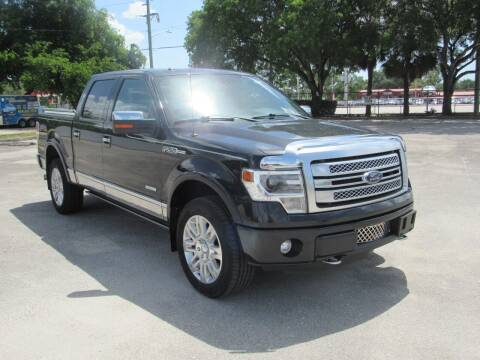 2012 Ford F-150 for sale at United Auto Center in Davie FL