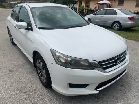 2014 Honda Accord for sale at Eden Cars Inc in Hollywood FL