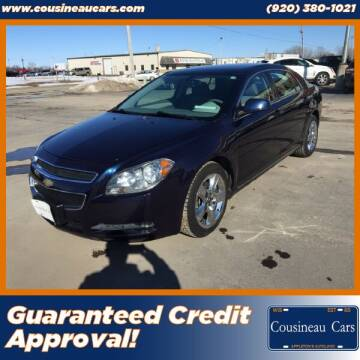 2010 Chevrolet Malibu for sale at CousineauCars.com - Guaranteed Credit Approval in Appleton WI