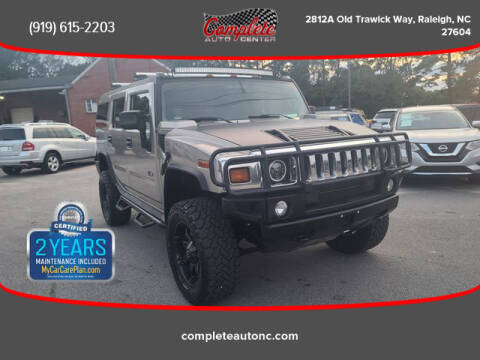 2003 HUMMER H2 for sale at Complete Auto Center , Inc in Raleigh NC