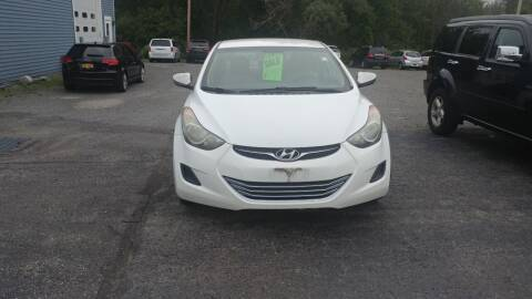 2011 Hyundai Elantra for sale at Pool Auto Sales Inc in Spencerport NY