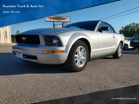 2007 Ford Mustang for sale at Kustomz Truck & Auto Inc. in Rapid City SD