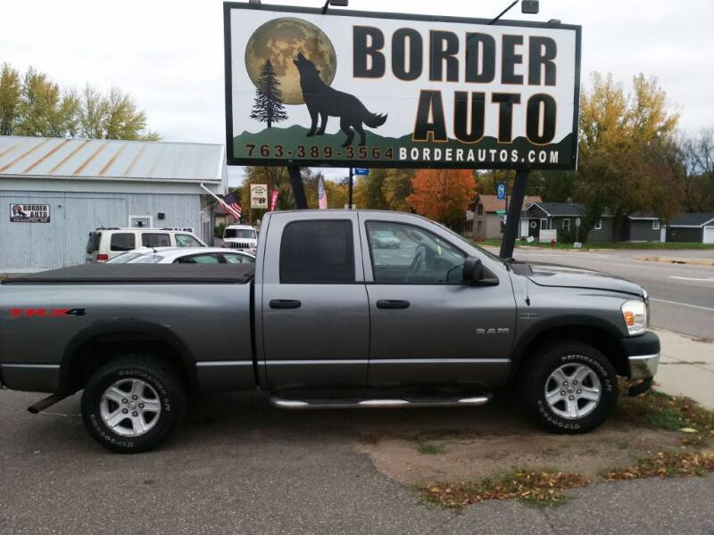 2008 Dodge Ram Pickup 1500 for sale at Border Auto of Princeton in Princeton MN
