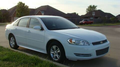 2013 Chevrolet Impala for sale at Red Rock Auto LLC in Oklahoma City OK