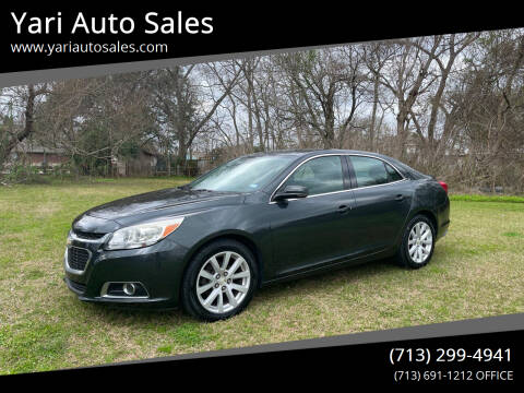 2014 Chevrolet Malibu for sale at Yari Auto Sales in Houston TX