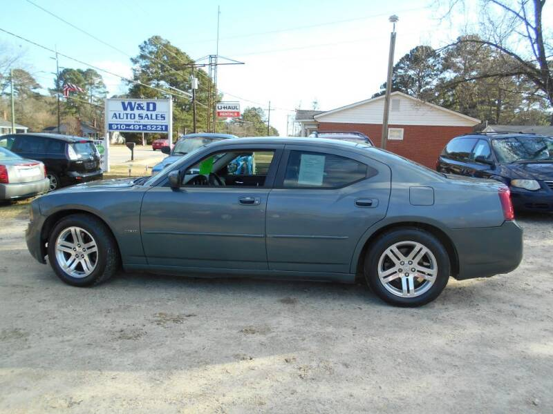 2006 Dodge Charger for sale at W & D Auto Sales in Fayetteville NC