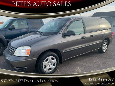 2005 Ford Freestar for sale at PETE'S AUTO SALES - Dayton in Dayton OH