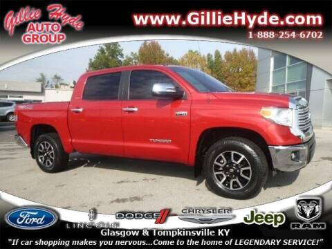 2017 Toyota Tundra for sale at Gillie Hyde Auto Group in Glasgow KY