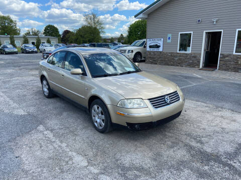 2003 Volkswagen Passat for sale at US5 Auto Sales in Shippensburg PA