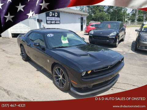 2017 Dodge Challenger for sale at D & D Auto Sales Of Onsted in Onsted MI