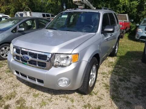 2012 Ford Escape for sale at Premier Automotive Sales LLC in Kentwood MI