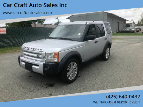 2006 Land Rover LR3 for sale at Car Craft Auto Sales Inc in Lynnwood WA