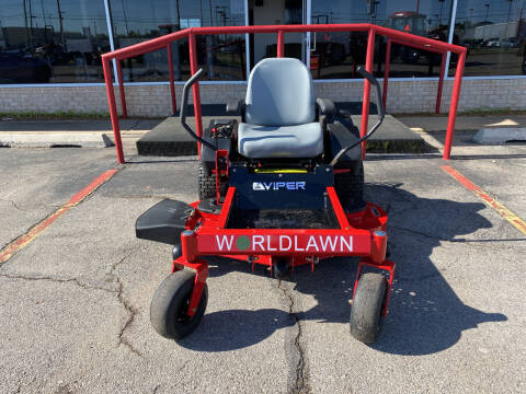 """2021 Worldlawn Viper 46"""" Deck ZTR for sale at NORRIS AUTO SALES in Oklahoma City OK"""