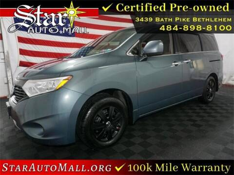 2013 Nissan Quest for sale at STAR AUTO MALL 512 in Bethlehem PA