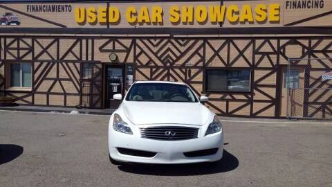 2009 Infiniti G37 Coupe for sale at Used Car Showcase in Phoenix AZ