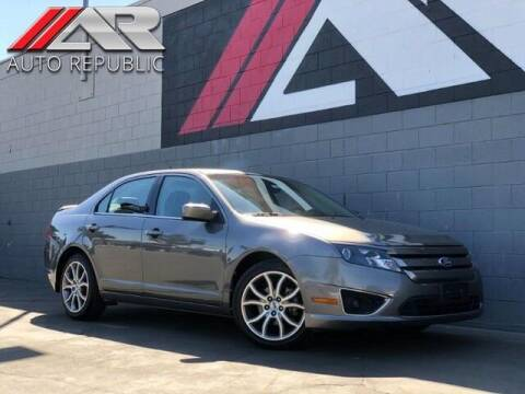 2010 Ford Fusion for sale at Auto Republic Fullerton in Fullerton CA