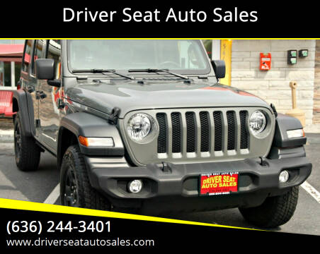 2019 Jeep Wrangler Unlimited for sale at Driver Seat Auto Sales in St. Charles MO