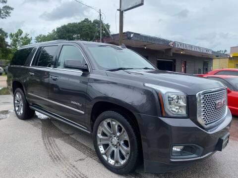 2016 GMC Yukon XL for sale at Texas Luxury Auto in Houston TX