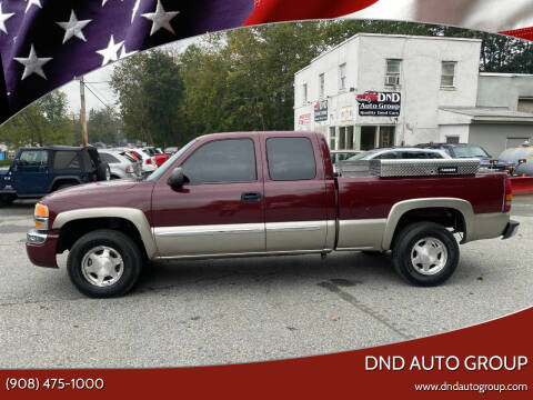 2003 GMC Sierra 1500 for sale at DND AUTO GROUP in Belvidere NJ