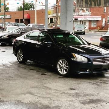 2009 Nissan Maxima for sale at Glacier Auto Sales in Wilmington DE