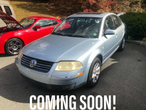 2004 Volkswagen Passat for sale at Orlandos Motors & Detail in Winston Salem NC
