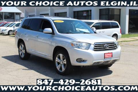 2008 Toyota Highlander for sale at Your Choice Autos - Elgin in Elgin IL