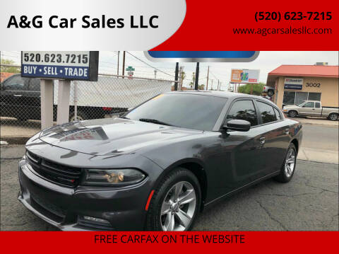 2017 Dodge Charger for sale at A&G Car Sales  LLC in Tucson AZ
