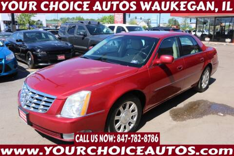 2010 Cadillac DTS for sale at Your Choice Autos - Waukegan in Waukegan IL