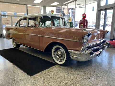 1957 Chevrolet Bel Air for sale at Klemme Klassic Kars in Davenport IA