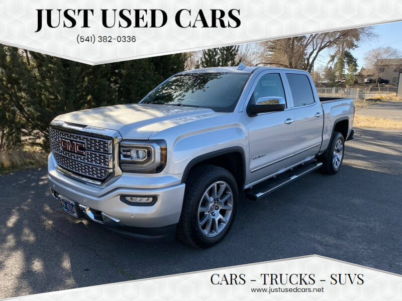 2018 GMC Sierra 1500 for sale at Just Used Cars in Bend OR